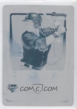 2011 Bowman - Prospects - International Printing Plate Cyan #BP35 - Jason Hagerty /1