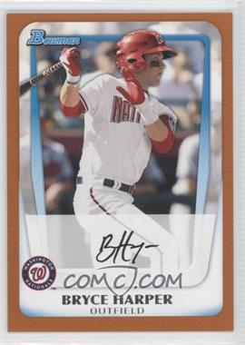 2011 Bowman - Prospects - Orange #BP1 - Bryce Harper /250
