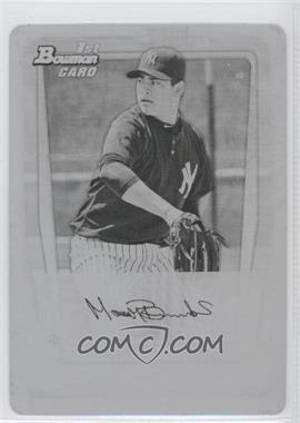 2011 Bowman - Prospects - Printing Plate Black #BP44 - Manny Banuelos /1