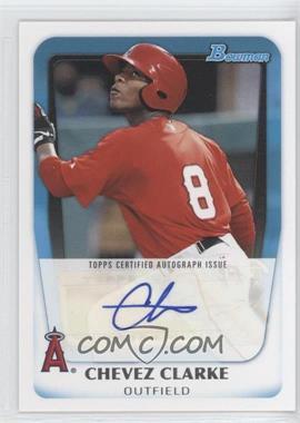 2011 Bowman - Prospects Autograph #BPA-CC - Chevez Clarke