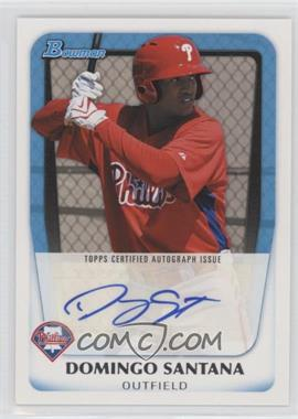 2011 Bowman - Prospects Autograph #BPA-DS - Domingo Santana