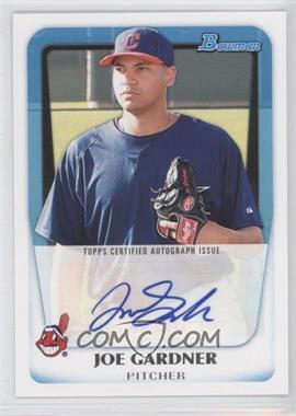 2011 Bowman - Prospects Autograph #BPA-JG - Joe Gardner