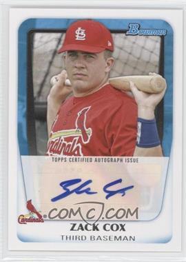 2011 Bowman - Prospects Autograph #BPA-ZC - Zack Cox