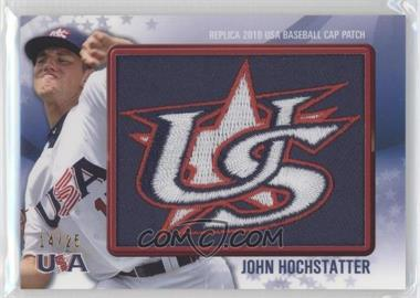 2011 Bowman - Replica 2010 USA Baseball Patch #USA-4 - John Hochstatter /25