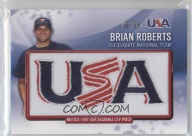 2011 Bowman - Retro Patch Relics #RPR-24 - Brian Roberts /25