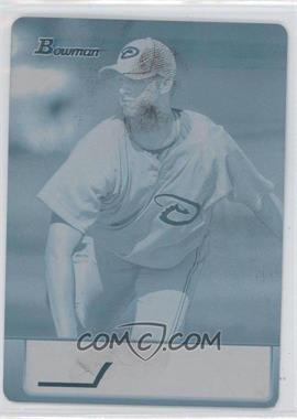 2011 Bowman - Topps 100 - Printing Plate Cyan #TP51 - Charles Brewer /1