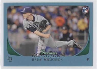 2011 Bowman Blue #199 - Jeremy Hellickson /500