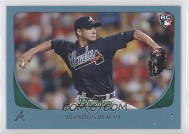 2011 Bowman Blue #204 - Brandon Beachy /500