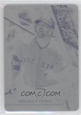 2011 Bowman Bowman's Best Printing Plate Black #BB21 - Kevin Youkilis /1
