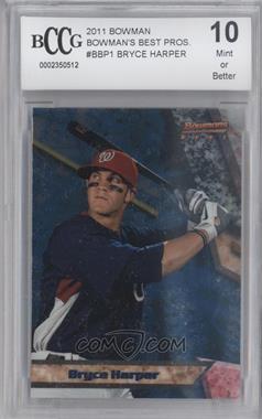 2011 Bowman Bowman's Best Prospects #BBP1 - Bryce Harper [ENCASED]