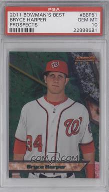 2011 Bowman Bowman's Best Prospects #BBP51 - Bryce Harper [PSA10]