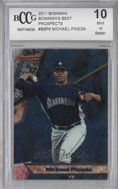 2011 Bowman Bowman's Best Prospects #BBP8 - Michael Pineda [ENCASED]