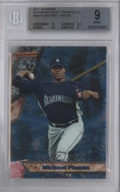 2011 Bowman Bowman's Best Prospects #BBP8 - Michael Pineda [BGS 9]