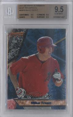 2011 Bowman Bowman's Best Prospects #BBP9 - Mike Trout [BGS 9.5]