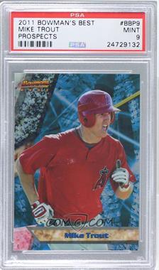 2011 Bowman Bowman's Best Prospects #BBP9 - Mike Trout [PSA9]