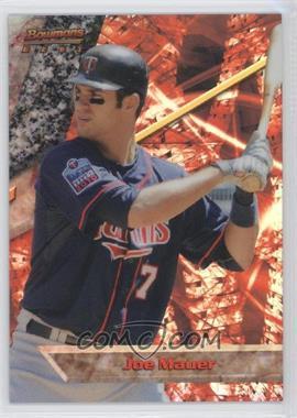 2011 Bowman Bowman's Best Refractor #BB22 - Joe Mauer /99