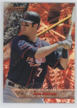 2011 Bowman Bowman's Best Refractor #BB22 - Joe Mauer /99