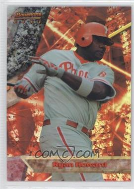 2011 Bowman Bowman's Best Refractor #BB24 - Ryan Howard /99