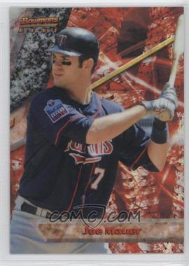 2011 Bowman Bowman's Best X-Fractor #BB22 - Joe Mauer /25