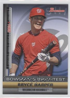 2011 Bowman Bowman's Brightest #BBR1 - Bryce Harper