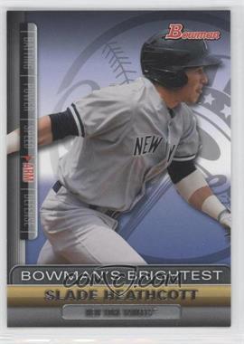 2011 Bowman Bowman's Brightest #BBR11 - Slade Heathcott