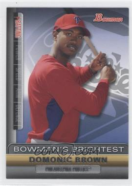 2011 Bowman Bowman's Brightest #BBR18 - Domonic Brown
