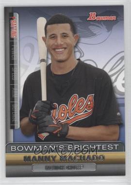 2011 Bowman Bowman's Brightest #BBR19 - Manny Machado