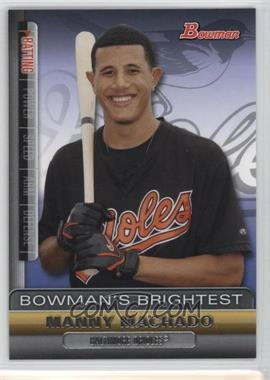 2011 Bowman Bowman's Brightest #BBR19 - Manny Machado