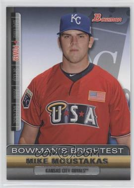 2011 Bowman Bowman's Brightest #BBR2 - Mike Moustakas