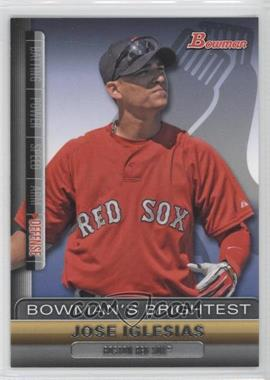 2011 Bowman Bowman's Brightest #BBR21 - Jose Iglesias