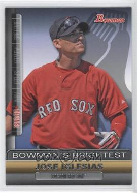 2011 Bowman Bowman's Brightest #BBR21 - Jose Iglesias