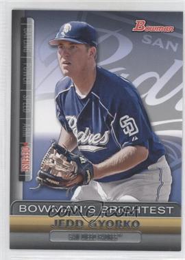 2011 Bowman Bowman's Brightest #BBR25 - Jedd Gyorko