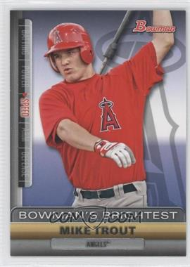 2011 Bowman Bowman's Brightest #BBR6 - Mike Trout