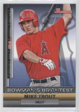 2011 Bowman Bowman's Brightest #BBR6 - Mike Trout