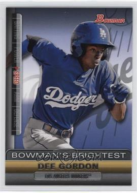 2011 Bowman Bowman's Brightest #BBR7 - Dee Gordon