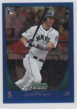 2011 Bowman Chrome - [Base] - Blue Refractor #212 - Dustin Ackley /150