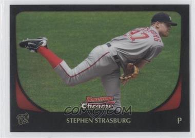 2011 Bowman Chrome - [Base] - Refractor #159 - Stephen Strasburg