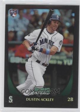 2011 Bowman Chrome - [Base] - Refractor #212 - Dustin Ackley