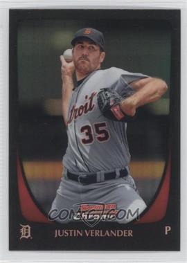 2011 Bowman Chrome - [Base] - Refractor #37 - Justin Verlander