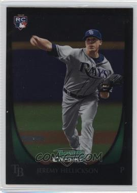 2011 Bowman Chrome - [Base] #179 - Jeremy Hellickson