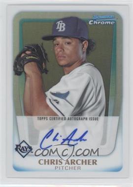 2011 Bowman Chrome - Prospects Autograph - Refractor #BCP134 - Chris Archer /500