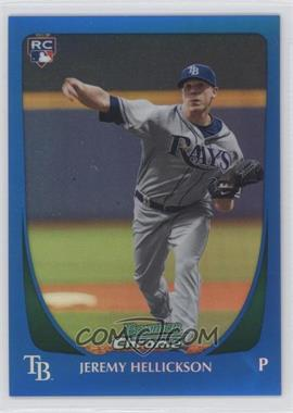 2011 Bowman Chrome Blue Refractor #179 - Jeremy Hellickson /150