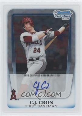 2011 Bowman Chrome Draft Picks & Prospects Prospects Certified Autographs #BCAP-CC - C.J. Cron