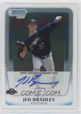 2011 Bowman Chrome Draft Picks & Prospects Prospects Certified Autographs #BCAP-JB - Jed Bradley