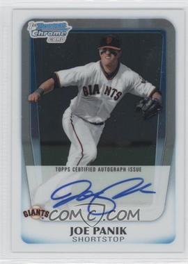 2011 Bowman Chrome Draft Picks & Prospects Prospects Certified Autographs #BCAP-JP - Joe Panik