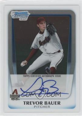 2011 Bowman Chrome Draft Picks & Prospects Prospects Certified Autographs #BCAP-TB - Trevor Bauer