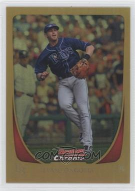 2011 Bowman Chrome Gold Refractor #95 - Evan Longoria /50