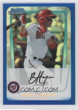 2011 Bowman Chrome Multi-Product Insert [Base] Blue Refractor #BCP1 - Bryce Harper /250