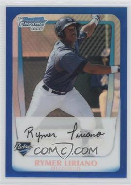 2011 Bowman Chrome Multi-Product Insert [Base] Blue Refractor #BCP101 - Rymer Liriano /250