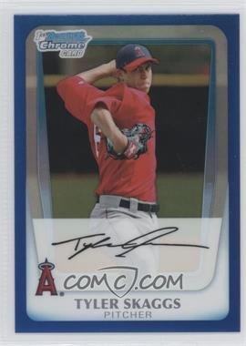 2011 Bowman Chrome Multi-Product Insert [Base] Blue Refractor #BCP194 - Tyler Skaggs /150